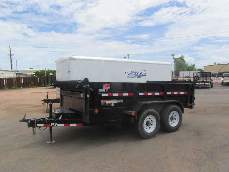 7x14 PJ  D7 Dump Trailer Rental