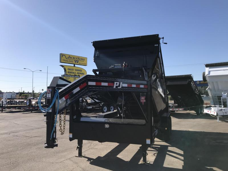 2020 PJ Trailers14 ROLLSTER ROLL OFF Dump Trailer
