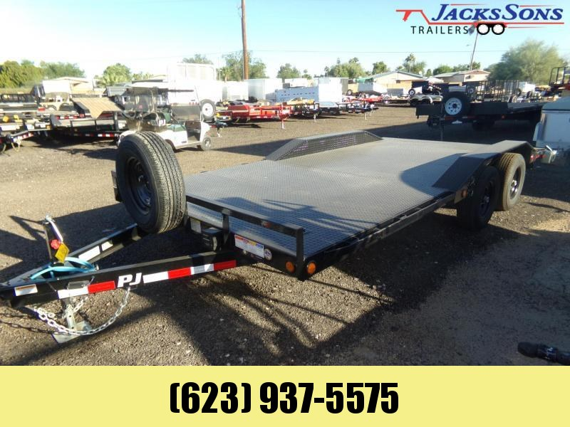 2020 PJ Trailers 18 FT B5 BUGGY HAULER STEEL DECK DRIVE OVER FEND. Car / Racing Trailer