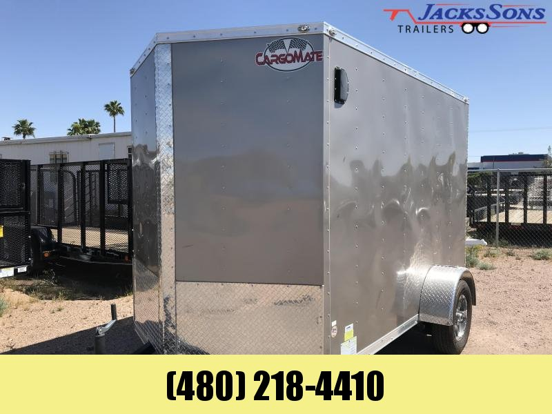 2019 Cargo Mate 6X10 Enclosed Cargo Trailer