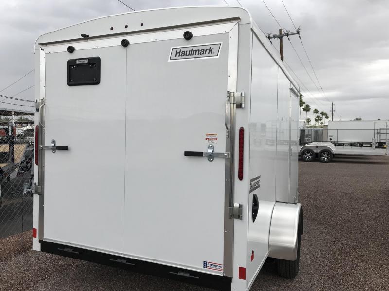 2019 Haulmark 7x12 Enclosed Cargo Trailer