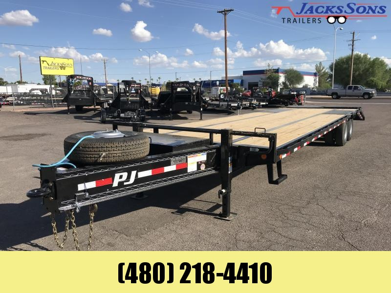 2020 PJ Trailers 32 LOW PRO PINTLE WITH DUALS Flatbed Trailer