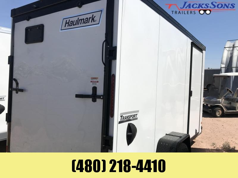 2020 Haulmark 6x12 Enclosed Cargo Trailer