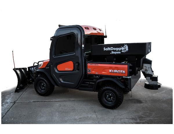 SaltDogg SHPE0750 Salt & Sand Spreader - FRESH NEW INVENTORY