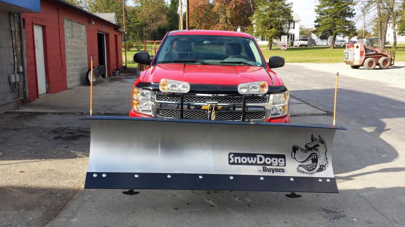 SnowDogg MD80 Snow Plow