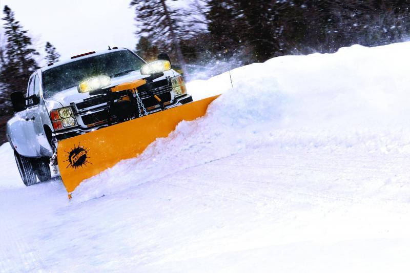 "Fisher 7'6"" HD2 MS Snow Plow"