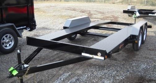 USED COD18-7 Open Deck Car Hauler 7K