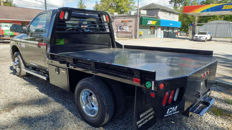 "CM RD Steel Flatbed Cab and Chassis 84"" CA"