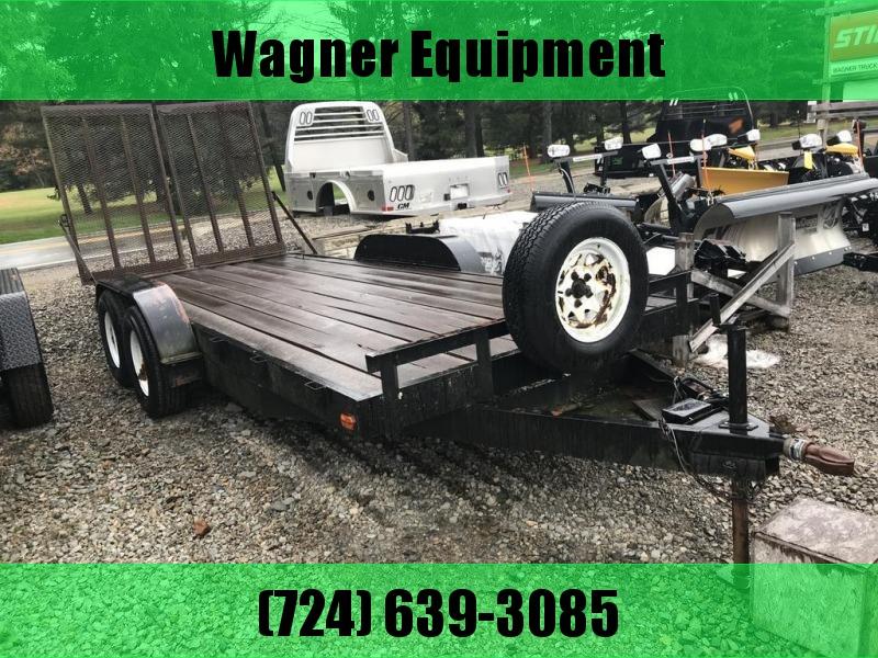 1994 JJN Equipment trailer