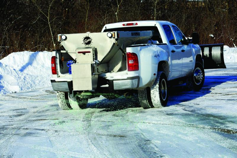 CLEARANCE! Fisher Engineering Steel-Caster Electric 99000-1 Salt Spreader