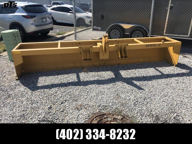 Buffalo E2 12' 3 Point Box Scraper