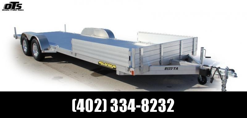 2020 Aluma 8116TA Utility Trailer