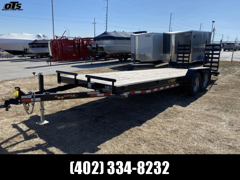 "2020 Doolittle Trailer Mfg Xtreme 82"" Wide 14K Equipment Trailer"