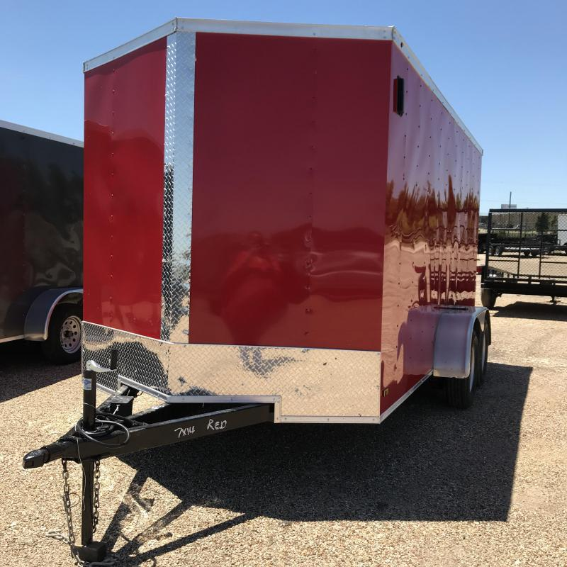 2019 Salvation 7x14 Enclosed Cargo Trailer