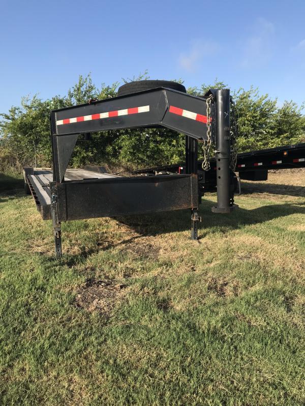 2018 USED Salvation 102X40 Equipment Trailer