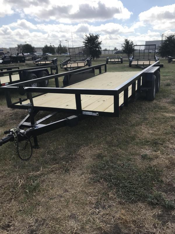 2020 Salvation 83x18 Utility Trailer