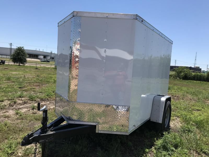 2019 Salvation 5X8 Enclosed Cargo Trailer