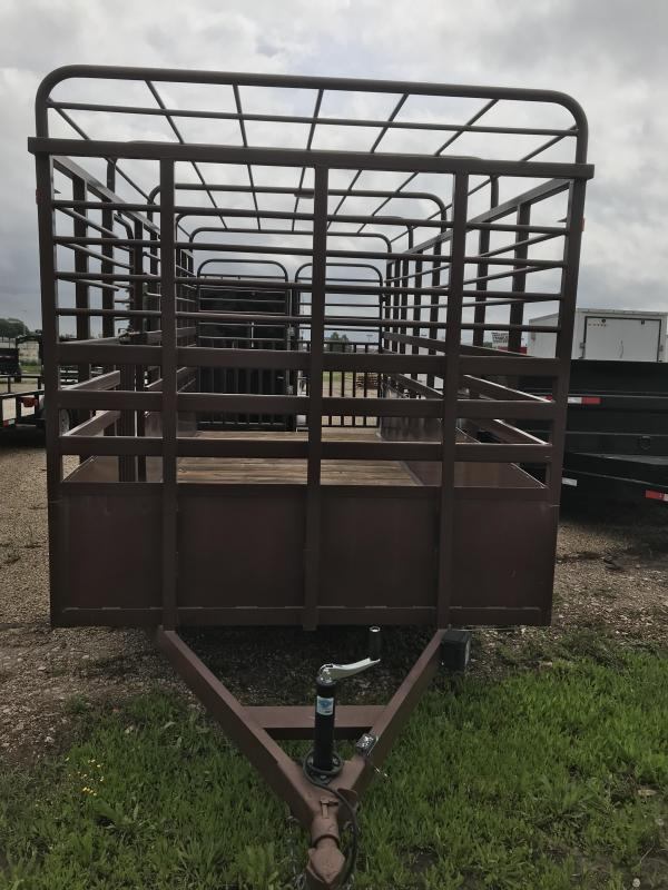 2019 Salvation 16 livestock Utility Trailer