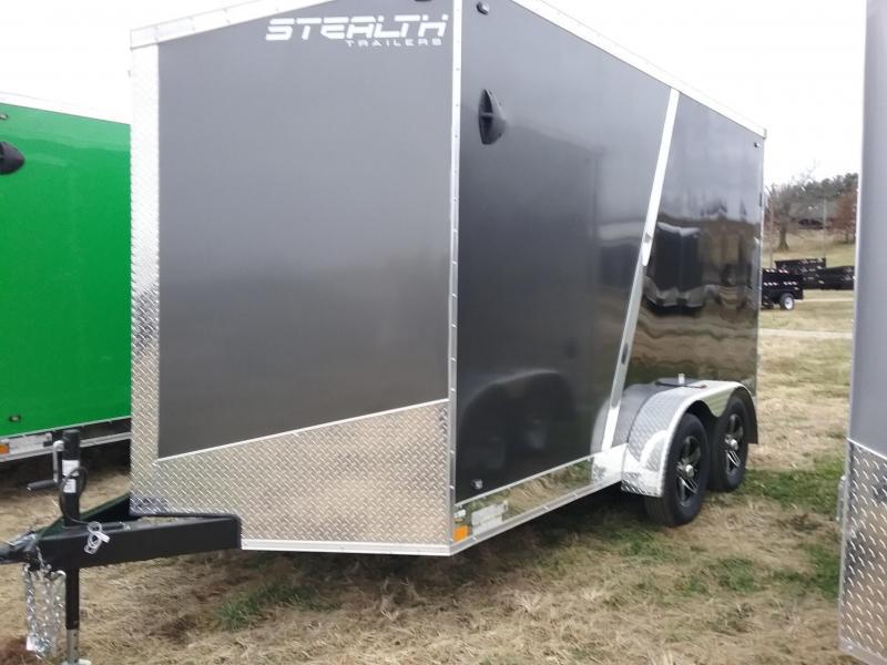 "7x14 (+12"" Additional Height) Stealth Titan Cargo Trailer"