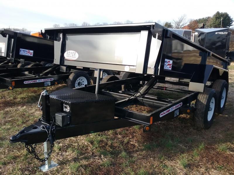 2020 Liberty 6x12 10K Dump Trailer