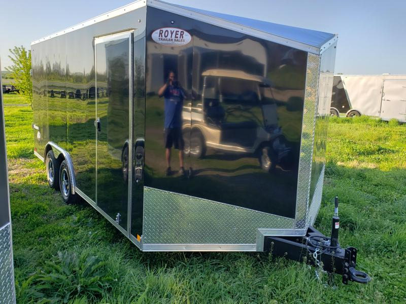8.5X16 FORMULA TRIUMPH ENCLOSED TRAILER