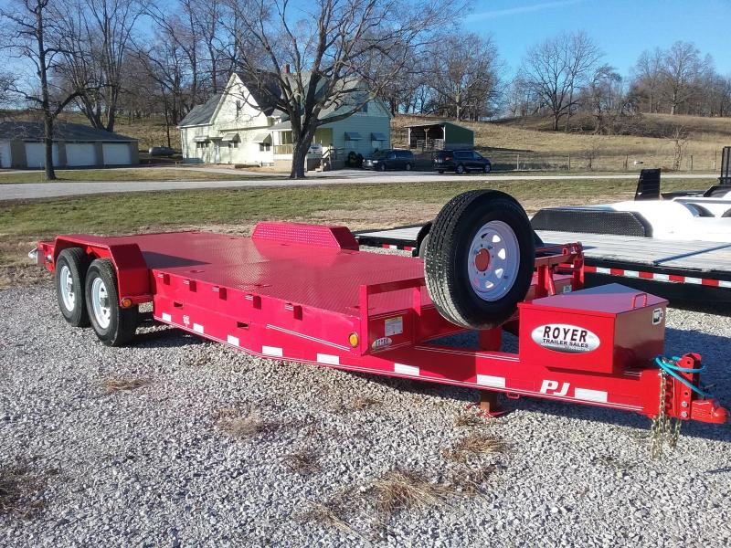 2019 PJ Trailers 14K Steel Deck Equipment Trailer