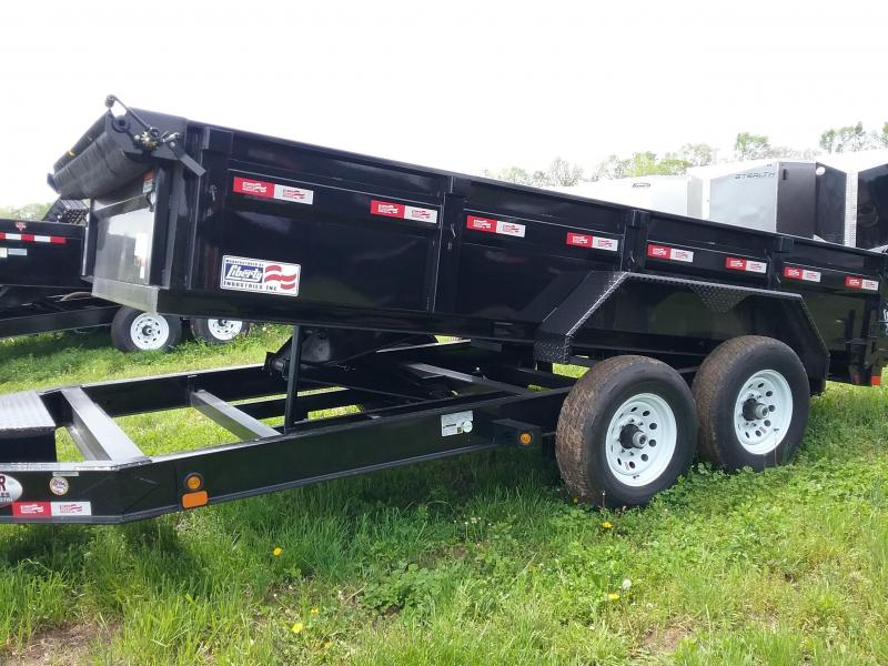 "Liberty Dump Trailer with Tarp 83""x14'"