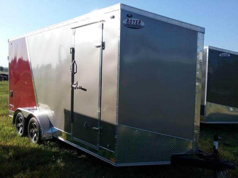 "7x16 (+12"" Additional Height) Stealth Titan Enclosed Trailer"