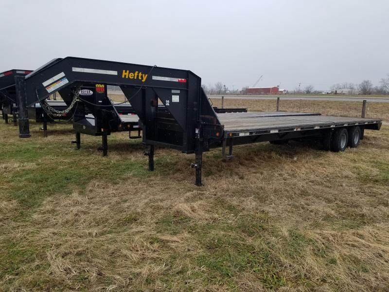 2013 HEFTY 25K GOOSENECK Flatbed Trailer