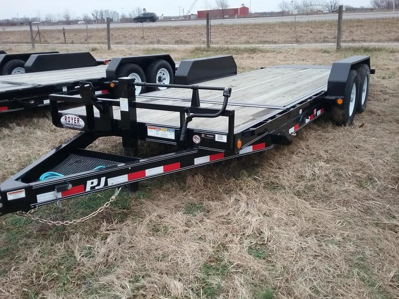 20' PJ Tilt Trailer with 16' Tilt Deck