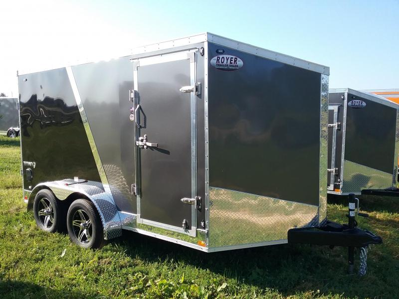 7x12 Stealth Titan Enclosed Trailer