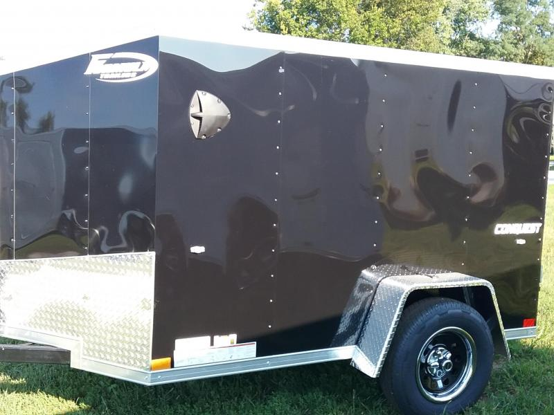 5x8 Formula Conquest Enclosed Cargo Trailer