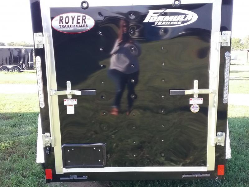 5x8 Formula Conquest Enclosed Cargo Trailer