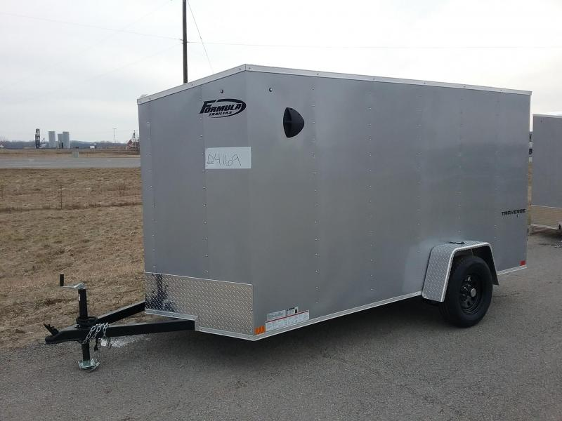 2021 6x12 Formula TRAVERSE Enclosed Cargo Trailer