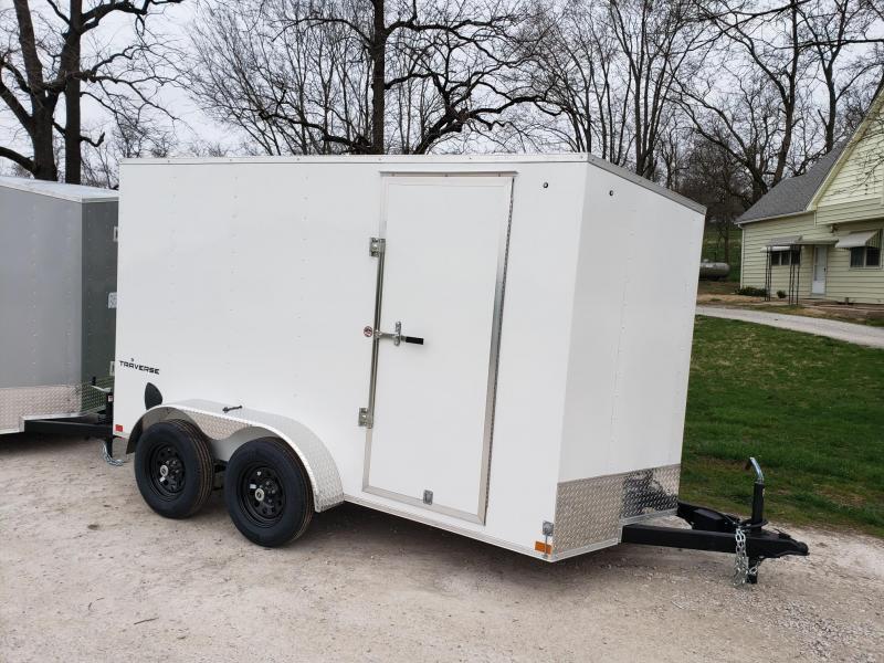 "6x12 (+12"" Additional Height) Formula Traverse Cargo Trailer"