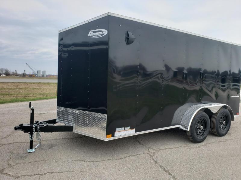 7x14 Formula Traverse Enclosed Trailer
