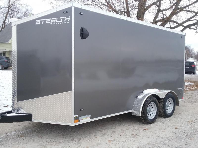 "7x14 (+6"" Additional Height) Stealth Titan Cargo Trailer"