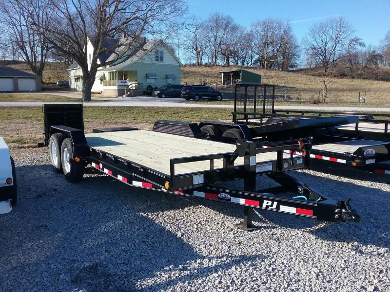 "2020 PJ Trailers 14K 82""x20' w/Monster Ramps Equipment Trailer"