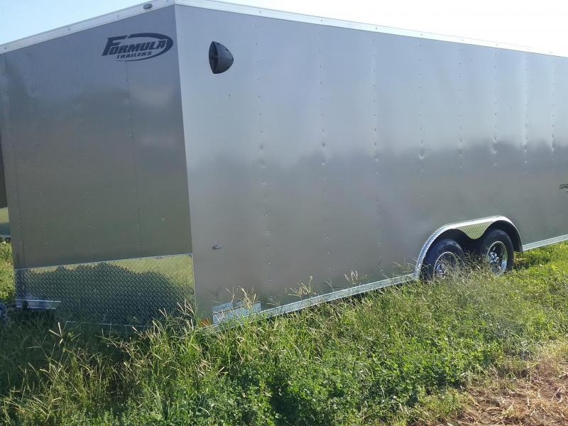 "8.5x18 (+6"" Additional Height) Formula Conquest Enclosed Cargo Trailer *with Barn Doors*"