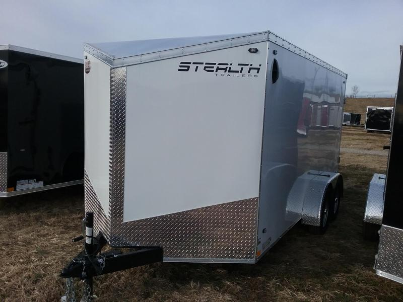 2020 Stealth Trailers 7x14 w/Rear Barn Doors Enclosed Cargo Trailer