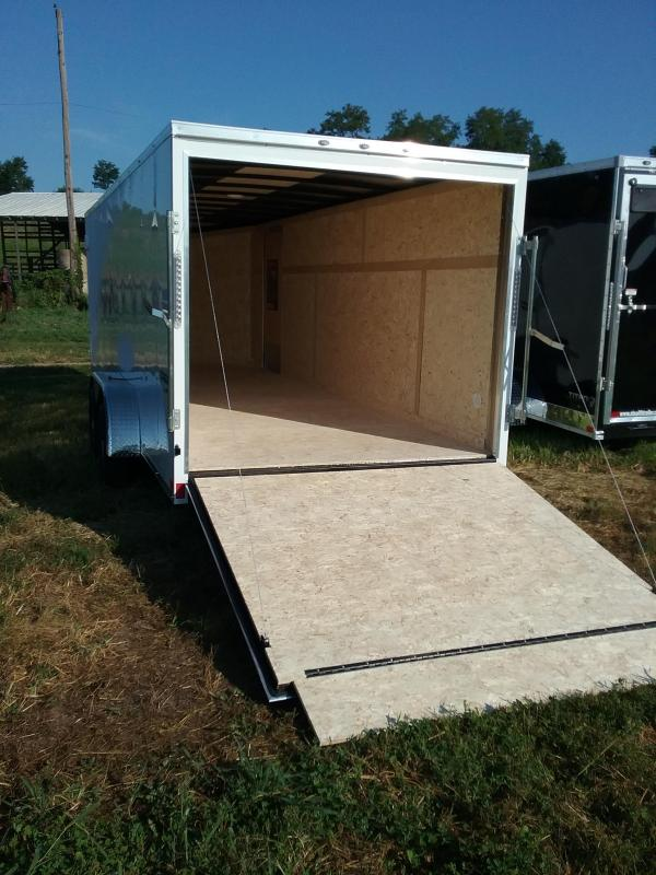7x20 Formula Conquest Enclosed Trailer