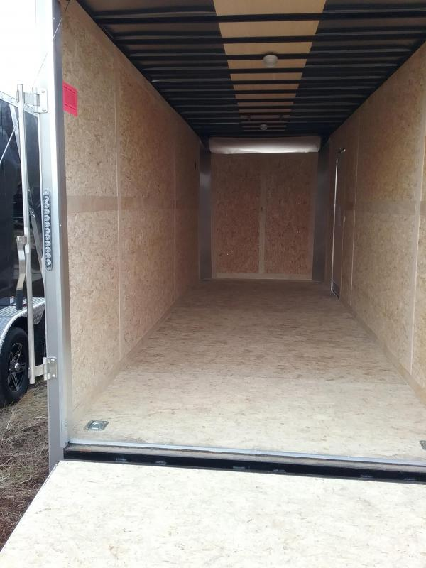 """2020 Stealth Trailers Titan 7x20 +18"""" Height Enclosed Cargo Trailer"""