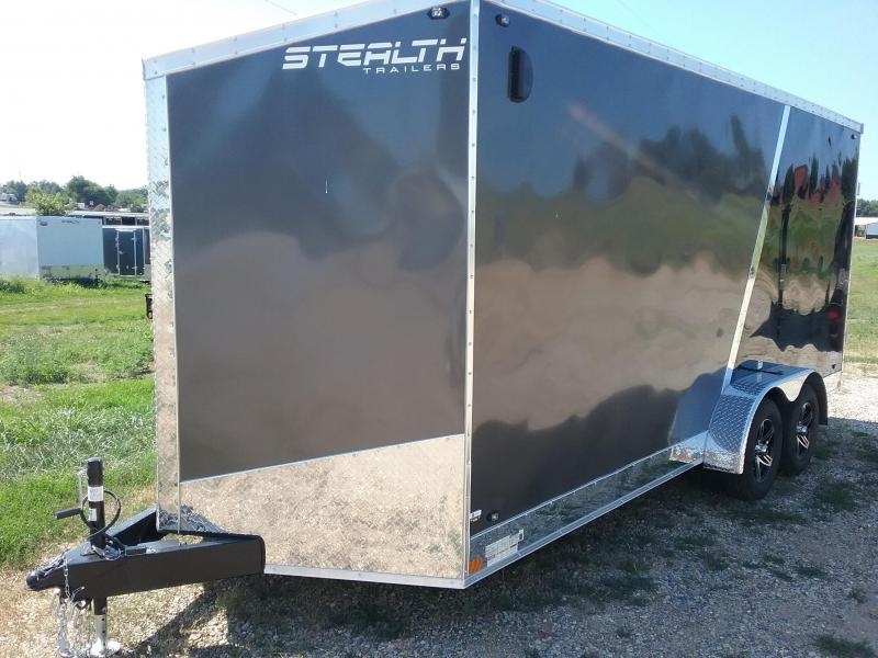 "7x18 (+12"" Additional Height) Stealth Titan Enclosed Trailer"