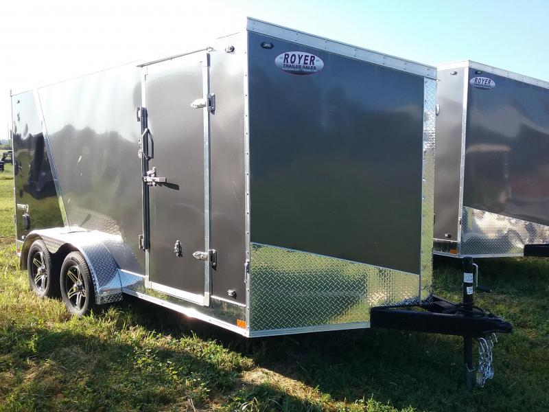 7x14 Stealth Titan Enclosed Trailer
