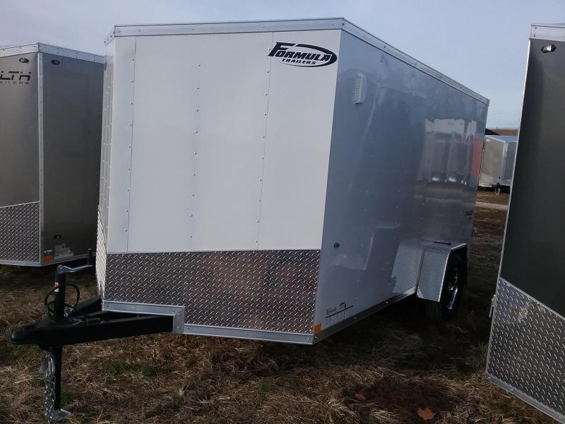 2020 Formula 7x12 Traverse Single Axle Enclosed Cargo Trailer