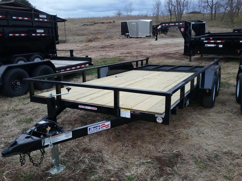 "2020 Liberty 83x16 4"" Channel Utility Trailer"
