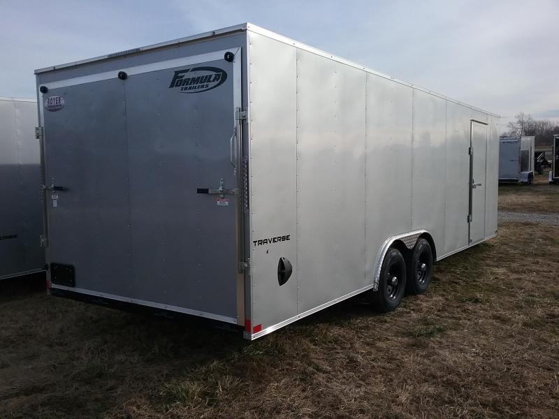 2020 Formula 8.5x24 Traverse 10K Enclosed Cargo Trailer