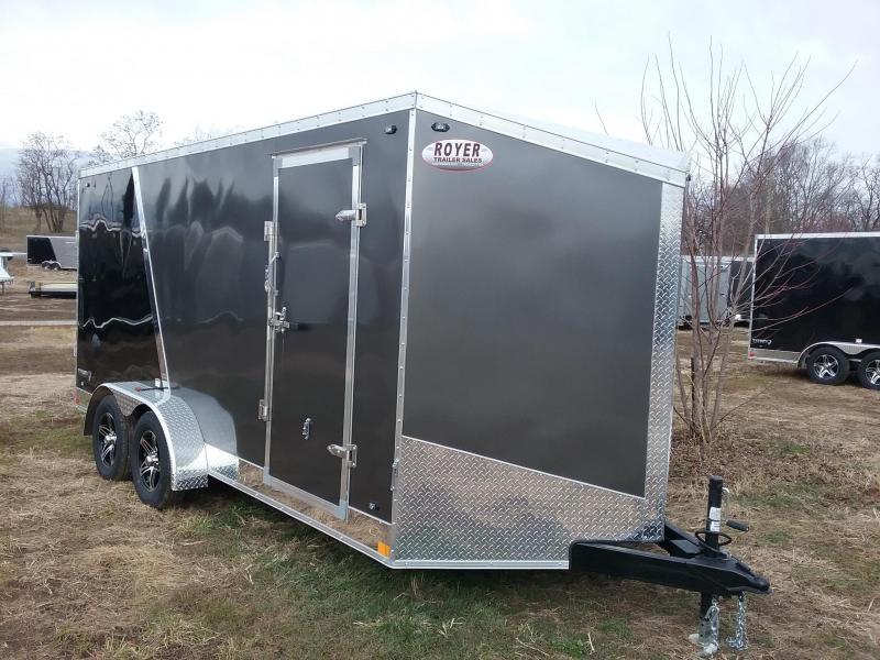"2020 Stealth Trailers 7X16 +6"" Height Titan w/Flash Pkg Enclosed Cargo Trailer"
