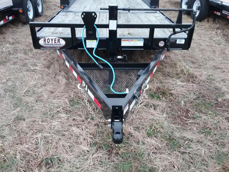 22' PJ Tilt Trailer with 16' Tilt Deck