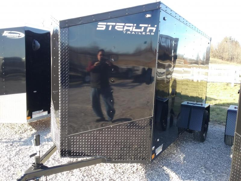 2020 Stealth Trailers 6x12 Blackout Mustang Enclosed Cargo Trailer